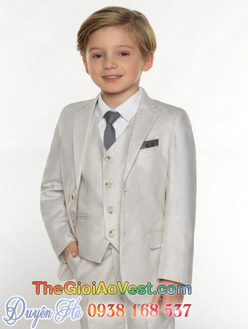 Áo vest cho bé trai dự tiệc