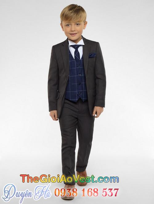 Áo vest trẻ em cho bé trai đi tiệc cưới